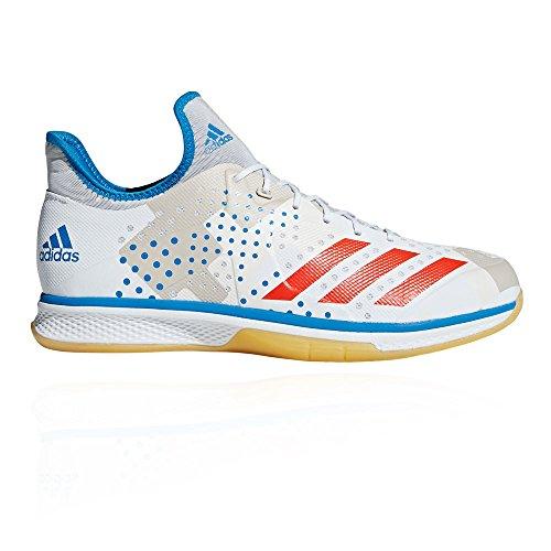 adidas Herren Counterblast Bounce Handballschuhe, Weiß (Ftwbla/Rojsol/Azubri 000), 44 EU
