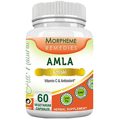 Morpheme Amla 500mg Extract 60 Veg Caps