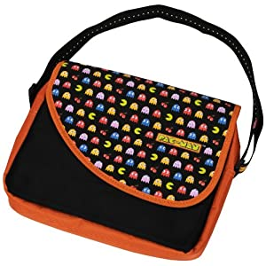 Pac-Man Notebook und Tablet Messenger Bag bis zu 27,9 cm