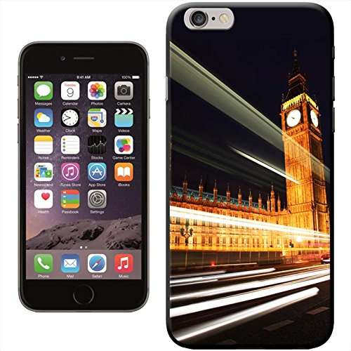 Fancy A Snuggle 'Double Decker Red Bus Big ben' Hard Case Clip On Back Cover für Apple iPhone 5 C Big Ben At Night