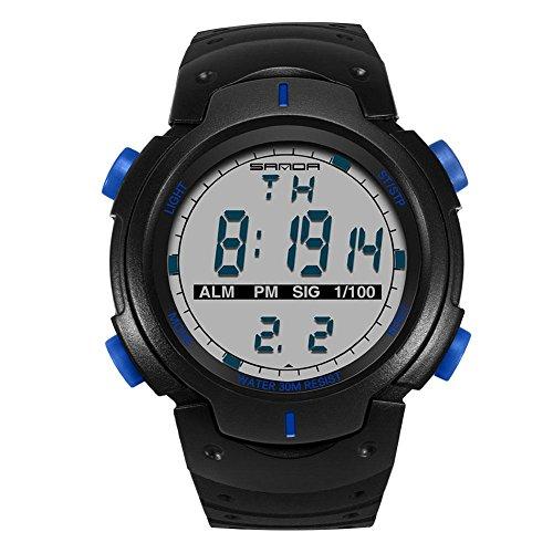 domybest Teenage Youth Digital Uhren Jungen Wasser widerstehen Luminous Sport Armbanduhr Alarm Uhr
