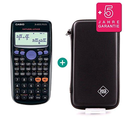 Casio FX-82ES Plus + Schutztasche + Erweiterte Garantie