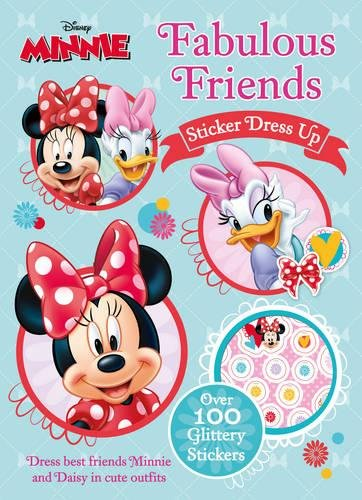 Image of Disney Minnie Mouse Fabulous Friends Sticker Dress Up: Dress Best Friends Minnie and Daisy in Cute Outfits