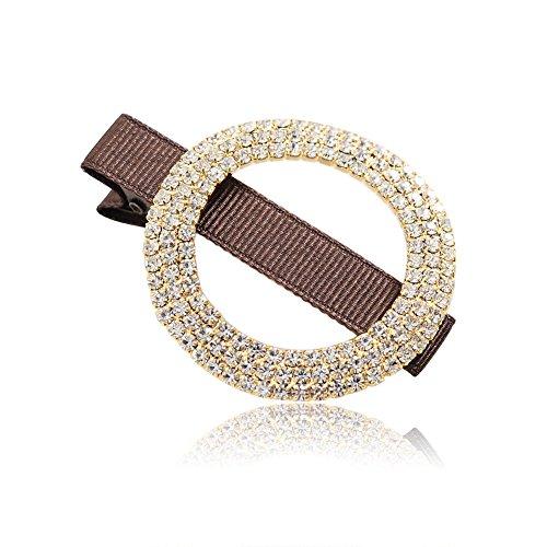 diamante pin/Cuore carino capelli clip/ cartella limiti ellittica/ capelli frangia (Classic Cappello Pin)