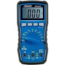 Draper DMM301 - Multímetro digital para automoción, color azul