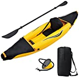 Best Inflatable Kayaks - Blue Wave Sports Nomad 1 Person Inflatable Kayak Review