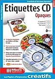 Étiquettes CD Opaques