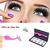 Fancyku Eyelashes Dual Magnet Glue-free 3D Reusable Premium Quality Natural Look Best False