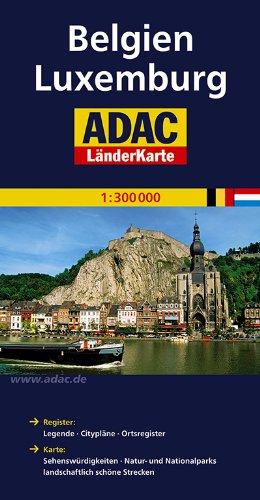 ADAC LänderKarte Belgien, Luxemburg 1:300 000 (ADAC Länderkarten)