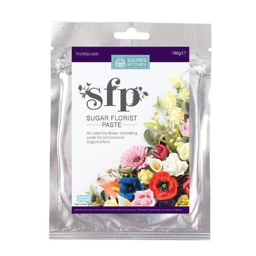 squires-kitchen-sfp-arte-azucar-pasta-de-floristeria-flores-flores-y-hojas-violeta-100g