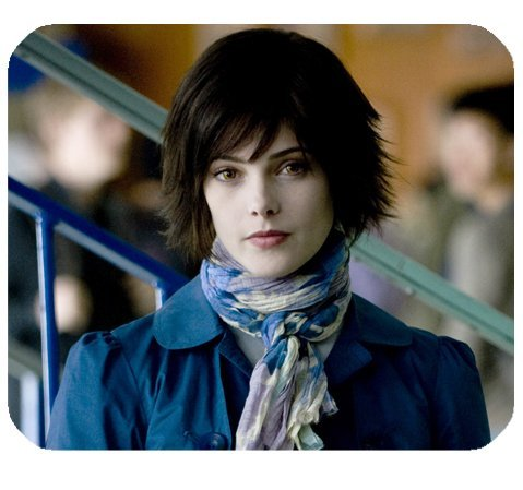 Alice Cullen Twilight Mousepad Personalized Custom Mouse Pad Oblong Shaped In 9.84