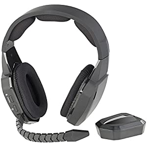 auvisio Headset kabellos: Digitales Gaming-Funk-Headset mit TOSLINK & 12-Stunden-Akku, 2,4 GHz (Wireless Headset)