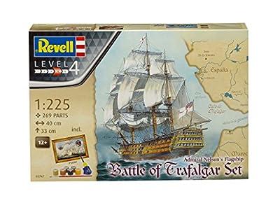 Revell - 05767 - Maquette - bateau Coffret Cadeau Bataille de Trafalgar