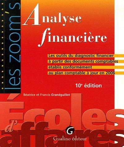 analyse-financire-les-outils-du-diagnostic-financier--partir-des-documents-comptables-conformment-au-plan-comptable--jour-en-2006