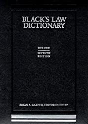 Black's Law Dictionary: Deluxe Thumb-Index