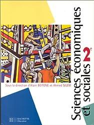 Sciences économiques et sociales seconde, livre de l'élève, édition 1997