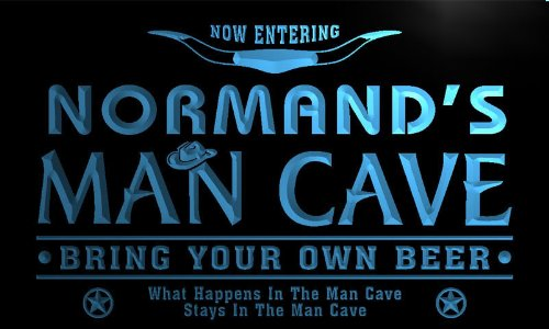 pb916-b Normand's Man Cave Cowboys Bar Neon Light Sign Barlicht Neonlicht Lichtwerbung - Normande Beleuchtung
