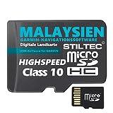 ?Malaysien Malaysia Garmin Topo GPS Karte GB microSD Card Garmin Navi, PC & MAC Garmin Navigationsgeräte Navigationssoftware ? ORIGINAL von STILTEC © -