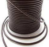 AURORIS - 5m Lederband rund - Ø 2mm - matt-braun