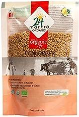 24 Mantra Organic Fenugreek, 200g