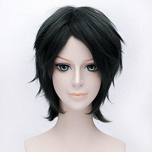 rzes Haar Gerade Cosplay Anime PerüCke Setzt (Chinesischen Männliche Kostüm)