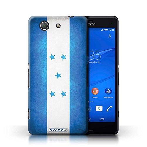 Kobalt® Imprimé Etui / Coque pour Sony Xperia Z3 Compact / Algérie conception / Série Drapeau Honduras
