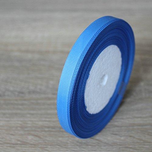 Tianzhensuiyue@ 5pcs/set Länge 22 m Breite 1 cm Gewinde Ribbon Ribbon handgefertigt, Lange 22 m Breit 1 Cm See Blau 36 (See-brautstrauß)