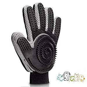 SeNDOH-Updated-Version-Five-Finger-Deshedding-Glove-Right-Hand-Grooming-Glove-with-Over-300-Silicone-Grooming-Tips–No-More-Rough-Metal-Brushes-