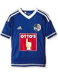 Adidas para niños Camiseta de fútbol del FC Luzern Azul Pride Ink F13 White  Talla 2cf12ca79e20c