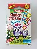 WUNDmed Kinderpflaster Eulen 10 Stück wasserfest by Wundmed