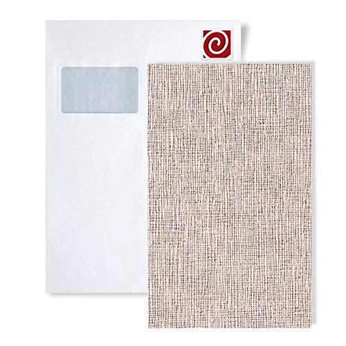 MUESTRA de papel pintado EDEM serie 228 | textura de tela de lino, 228-XX:S-228-43
