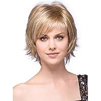 love peluca Europea y de la moda estadounidense señorita Jin Se con el pelo corto campanas de fibra esponjosa