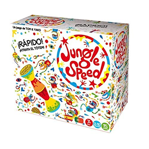 Asmodee Jungle Speed Skawk-Español, Color (JSSKWA02ES)
