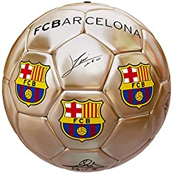Balón Oficial FC Barcelona Dorado Firmas