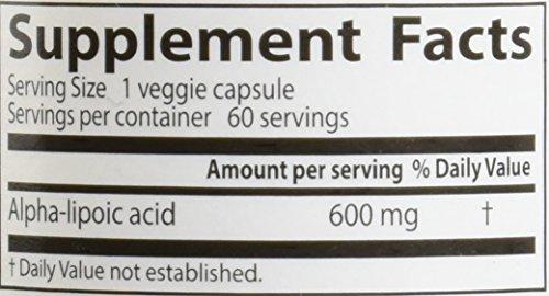 Doctor's Best, Best Alpha-Liponsäure, 600 mg, 60 Veggie Caps