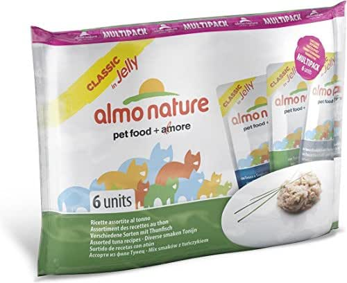 Almo Nature : Multipack Classic Chat, 6x55g : Poisson