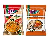 RTR Masala Sambar Powder & Rasam Powder (50 G) Combo 2