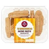 El pequeño capricho Co. Mini pan de jengibre Galletas de los hombres de 18 por paquete