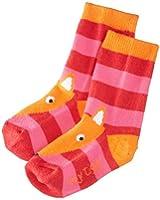 Toby Tiger Girls Fox Socks