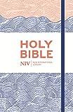 NIV Thinline Blue Waves Cloth Bible (New International Version)