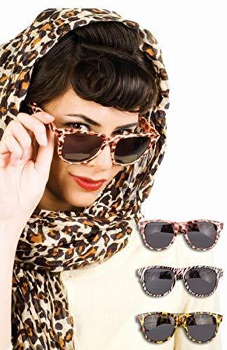 PIMP Brille für Erwachsene - Leopard Pimp Leopard