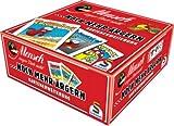 Schmidt 2er Set Spiele Mensch ärgere Dich Nicht, …noch mehr ärgern, Kartenerweiterung ROT und BLAU