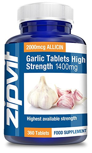 Knoblauch-Tabletten extrastark 1400 mg (360 Tabletten)