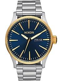 Nixon Unisex-Armbanduhr Analog Quarz Edelstahl A3561922
