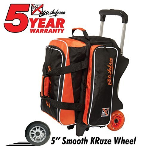 kr-krush-double-deluxe-roller-bowling-bag-orange-black-by-kr-strikeforce-bowling-bags