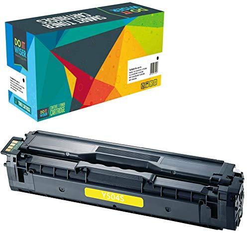 Do it Wiser Toner Compatibile CLT-K504S CLT-Y504S per Samsung CLT-C504S c504s C1810W CLX-4195FN CLP-415 CLP-415N CLP-415NW CLP-470 CLP-475 CLX-4195N CLX-4195FW SL-C1860FW CLX-4170 (Giallo)