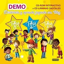 Peky CD-ROM Interactivo- CD Láminas Digitales 3, 4 y 5 años DEMO: Diviértete y aprende jugando con Peky (Proyecto Peky) - 9788444173177