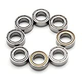 RISHIL WORLD HG P401 P402 P601 Ball Bearing 8PCS 5x9x3mm W04008