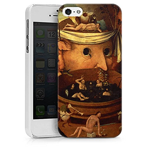 Apple iPhone X Silikon Hülle Case Schutzhülle Tondals Vision Kunst Art Hard Case weiß