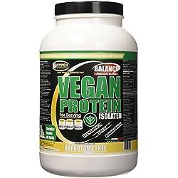 Hyper Vegan Protein Proteine Vegane da Fonti Vegetali Rilascio Graduale, Gusto Vaniglia gr750 - 1 Flacone